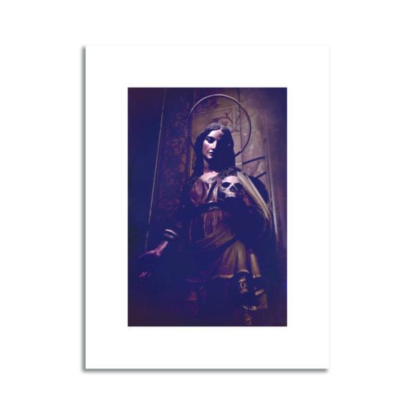 Vierge Marie Cabinet de curiosité photo affiche décoration murale art