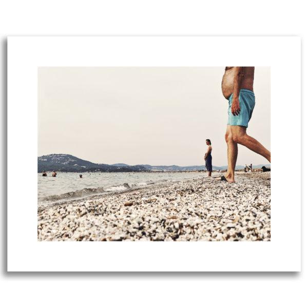 photo plage de l'Almanarre Hyère vacances été photographie affiche art print décoration murale