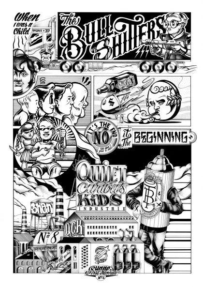 when i was a child sergeant paper affiche art print bande dessinée décoration murale